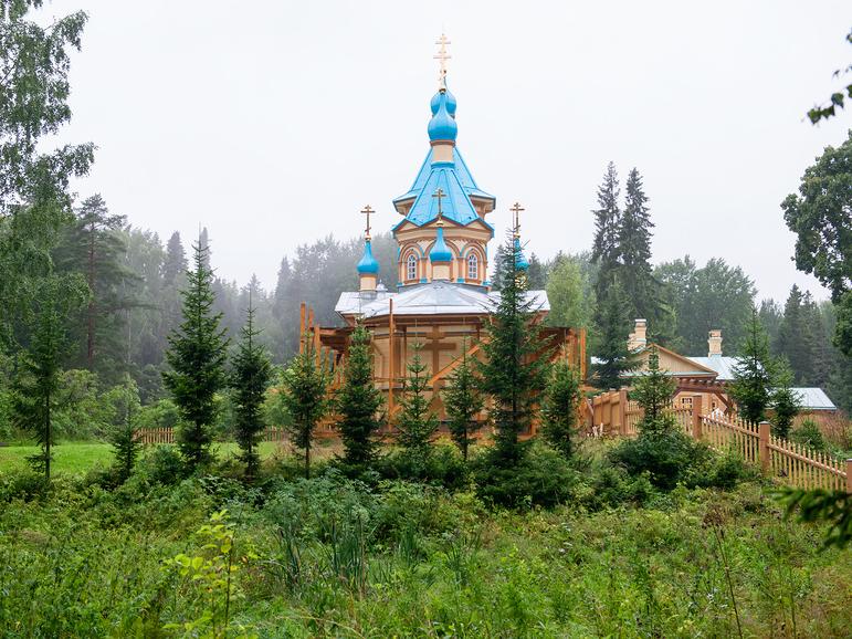 Собор на территории музея-заповедника «Кижи»