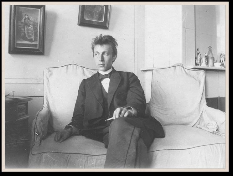 Сергей Рахманинов. 1897 год. Российский национальный музей музыки, Москва